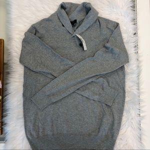 J.Crew Shawl Collar Sweater Size Small